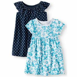 Wonder Nation Toddler Dresses Set 4T